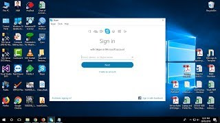 How to download & install skype classic old version / edition - 7.40 in Windows 10, 8.1,8,7