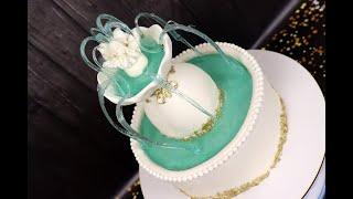 Торт ФОНТАН 3Д торт Карамельный декор для тортов