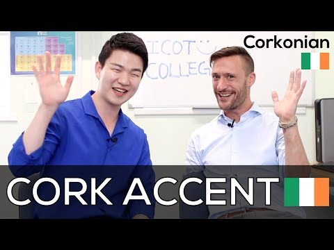 Characteristics of Cork Accent in Ireland with a Corkonian 🇮🇪 [Korean Billy]