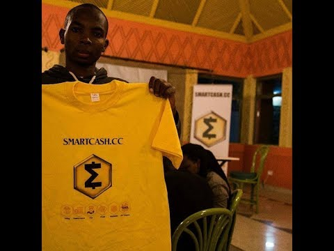 SmartCash Meetup and Launch in Nairobi, Kenya with Afrikanus Kofi