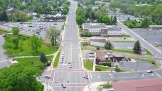 Drone video from James Madison University (4-29-2017)