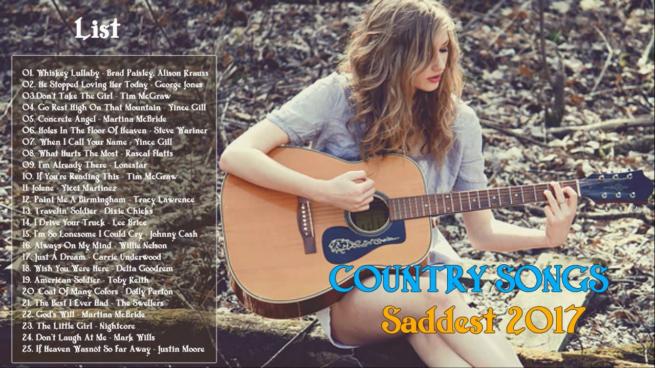 Country songs to make you cry