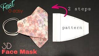 Face Mask Sewing Tutorial How to make a face mask with sewing machine DIY cloth face mask