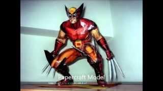 Papercraft Marvel !