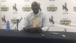 Wyoming coach Allen Edwards discusses Niagara loss
