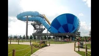 The Boomerang-Insane Proslide Tornado | Raging Waves Waterpark IL