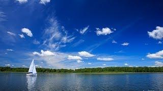 Los lagos Masurianos en Polonia desde el aire!