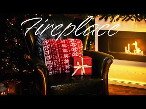 Fireplace & Relaxing Christmas Jazz - Smooth Fireplace JAZZ  For Holiday