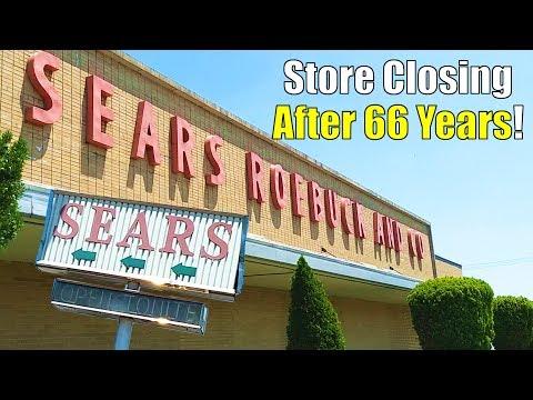 Sears Vineland, NJ, Closing: Store Tour