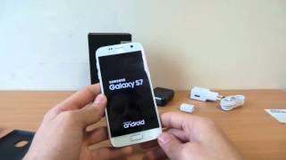 Samsung Galaxy S7 kezdeti lépések