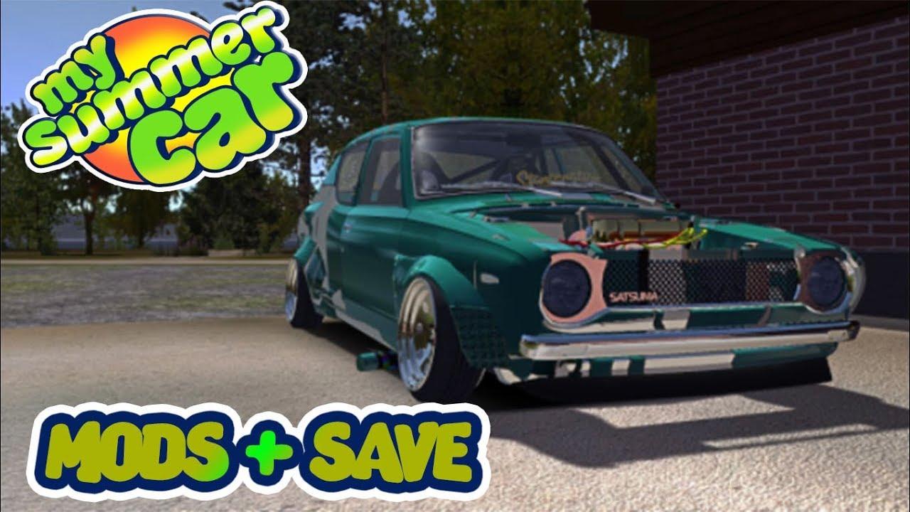 MY SUMMER CAR - MODS QUE EU USO NO JOGO PARTE 01