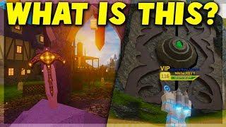 ¿Qué es el arma SECRET Holy Excalibur? Roblox Dungeon Quest (Actualización de canales)