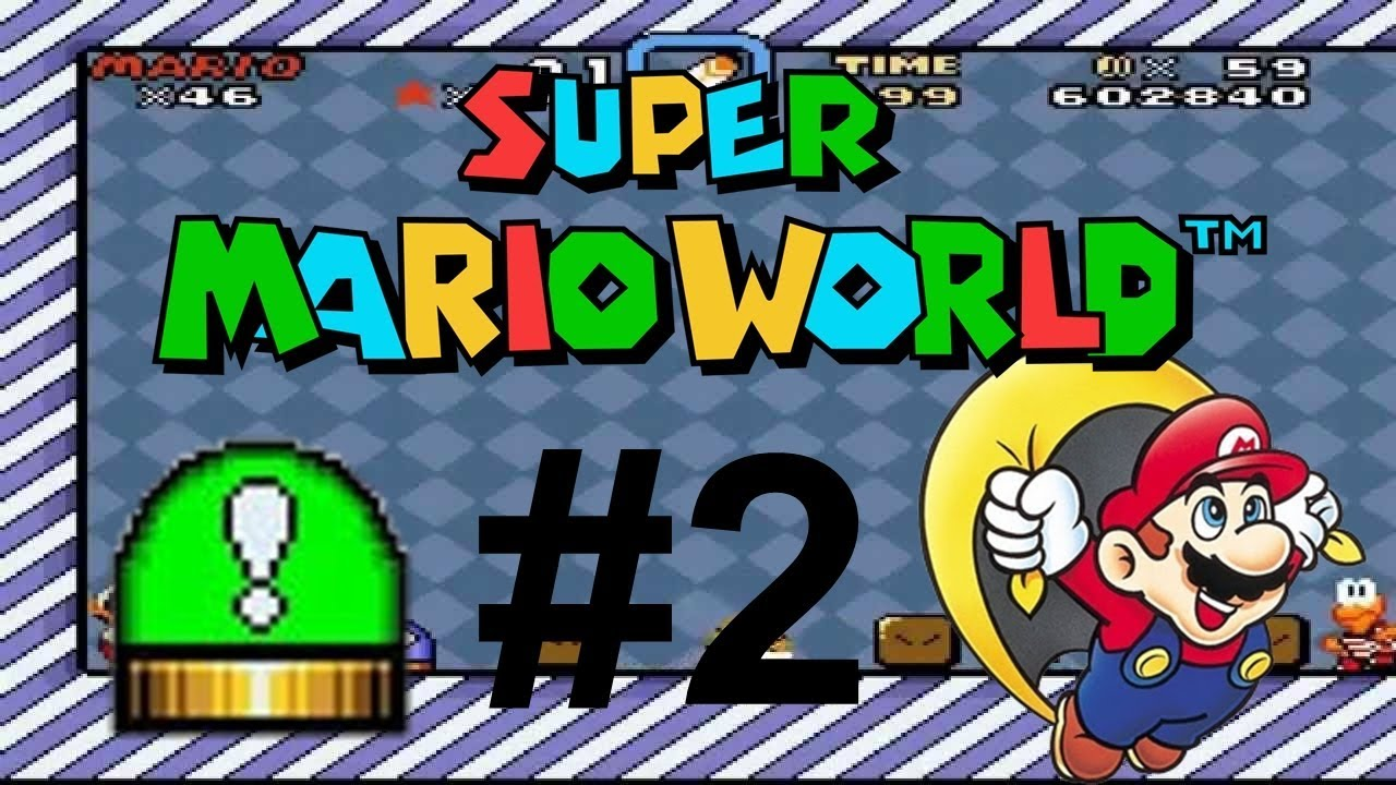 Super Mario World 2 Green Switch Palace Youtube