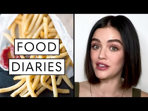 Everything Lucy Hale Eats in a Day #StayHome Edition   Food Diaries: Bite Size   Harper's BAZAAR