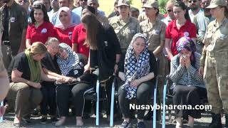 Nusaybin'de şehit asker için düzenlenen törende dualarla uğurlandı