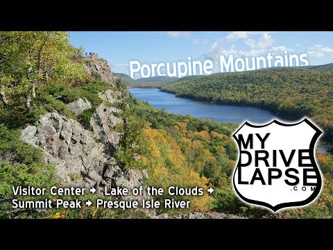 A Drive Around Michigan's Porcupine Mountains State Park