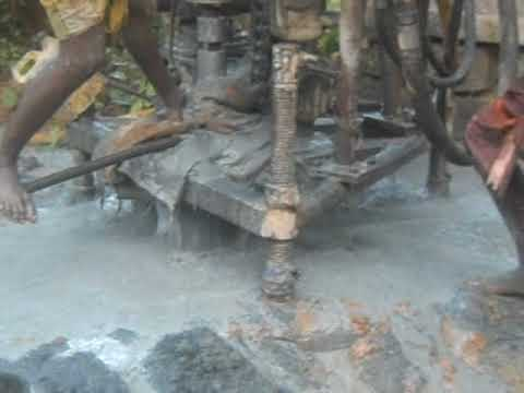 Copy of Borewell Drilling, Pumping Water in Borewell.