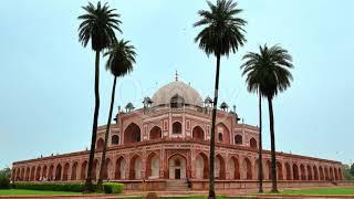 Humayun's Tomb Delhi historical building India | Stock Video | Qonvey