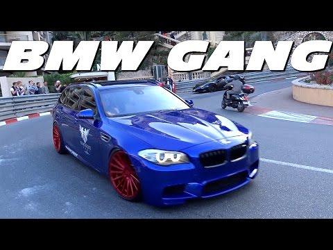 SWISS BMW M GANG INVASION IN MONACO !