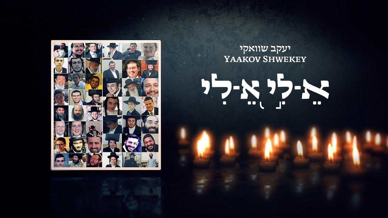 יעקב שוואקי בסינגל חדש לאחר האסון במירון | א-לי א-לי
