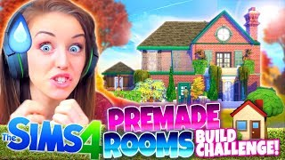 🏡PRE-MADE ROOMS ONLY!!🏡 -  The Sims 4 BUILD Challenge!