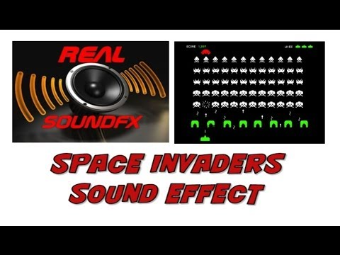 Space invaders sound effect - realsoundFX