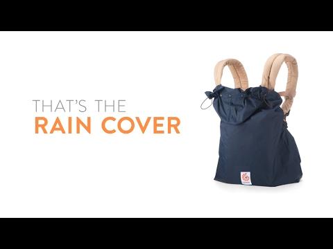 Black New Ergobaby Water Resistant Rain Cover