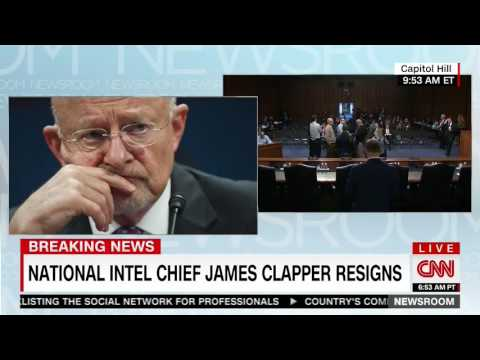 CNN: James Clapper Submitted Letter of Resignation