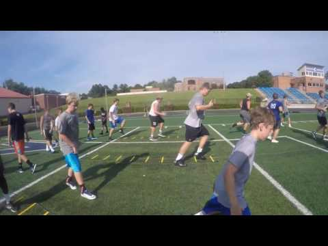 Charlotte Christian school football- Level 4 Agility