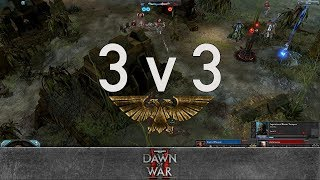 Dawn of War 2 - 3v3 | Lord of Pleasure + SiLiSe + Jim Beam [vs] philiconcane + Antandron + Maru