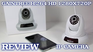 GIANTREE H.264 HD 1280x720P IP CAMERA REVIEW