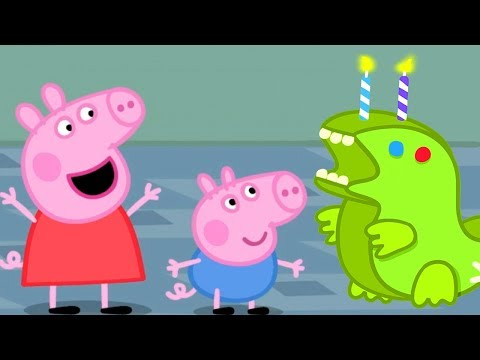 Peppa Pig Français 🎂 L'anniversaire De George 🎂 Dessin Animé