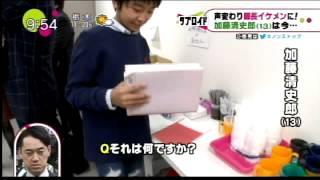 映画「トランスフォーマー」DVD発売イベントに、加藤憲史郎君(7)が登場...