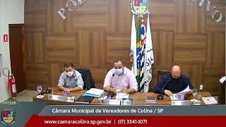 Câmara Municipal de Colina - 3ª Sessão Ordinária 01/03/2021