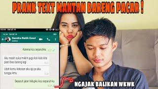 """Download PRANK TEXT MANTAN BARENG PACAR  """" NGAJAK BALIKAN"""" AUTO BERANTEM !!"""