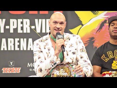 Tyson Fury • FULL POST FIGHT PRESS CONFERENCE • Wilder Vs. Fury 2 | Las Vegas MGM