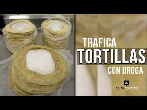 Intentan traficar droga ¡en tortillas! - Anciano de 60 años USA.
