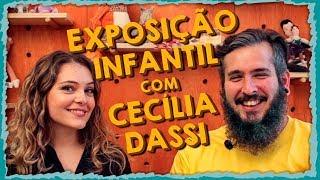 EXPOSIÇÃO INFANTIL feat. Cecília Dassi - Paizinho, Vírgula!