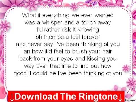 Love And Theft - Thinking Of You Lyrics