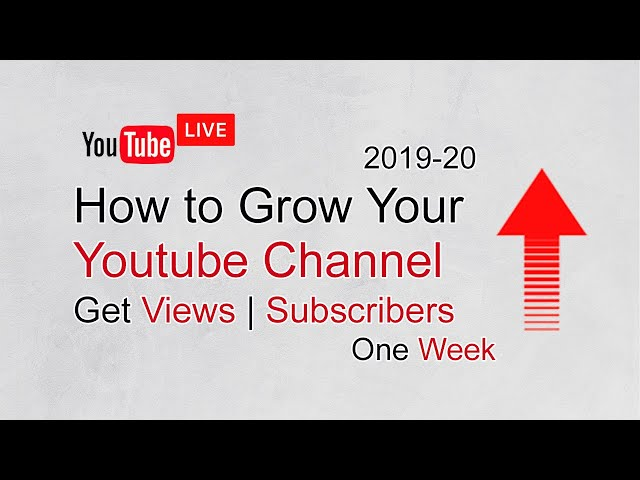 Promote Youtube channel | Get Views | Get Subscribers 2019-20