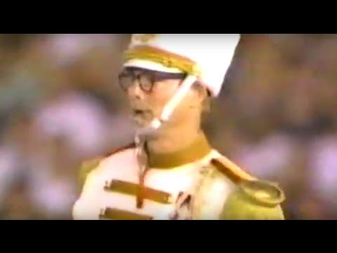 Bill Irwin and a marching band closes Olympics Games in Atlanta