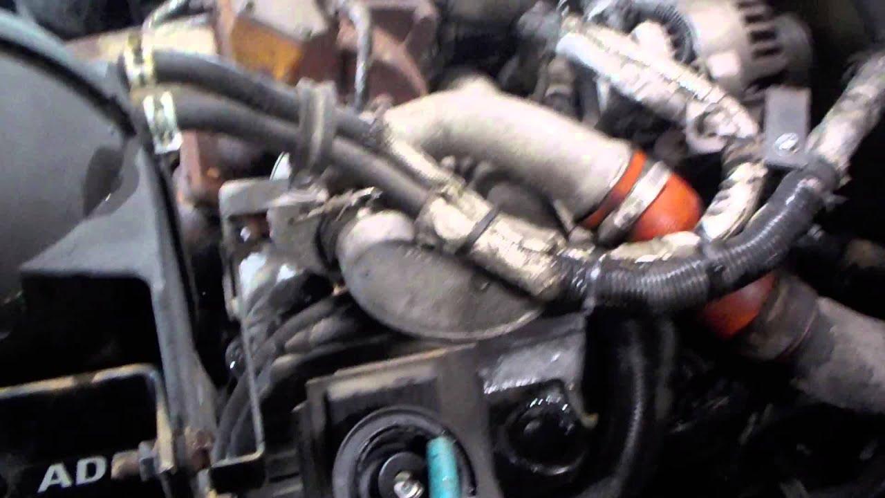 04216 1 2007 ford lcf cab over international vt275 200 hp youtube rh youtube com MaxxForce 5 Diesel Engine Ford Navistar Engines