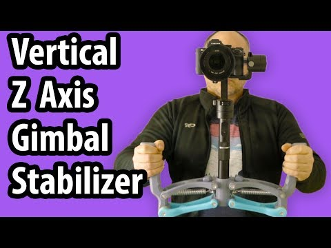 3D Printed Vertical Z ( 4th ) Axis Stabilizer for Gimbals - Showcase