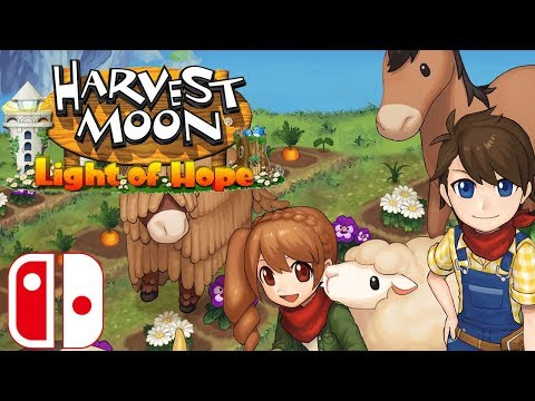 Harvest Moon: Light of Hope SE | Ep1: A New Beginning [No Commentary]