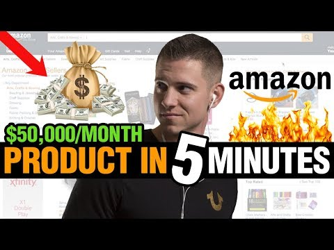 🔥 INSANE Amazon FBA Product Research 2018 Secret That Found A $50,000/Month Product In 5 Minutes!