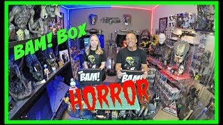 The BAM! Box Horror Edition Unboxing | May 2018 | Guru Reviews