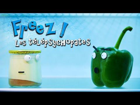 FREEZ ! Episode 4  Les Télépsychopathes stop motion vegetable