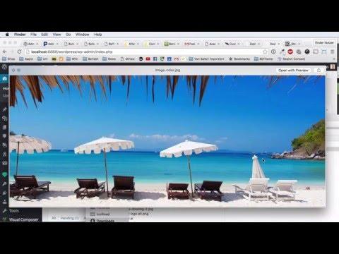 Revolution Slider Wordpress Tutorial - Morphing Image Effect