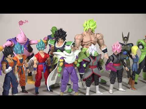 Final Dragon Ball Figure Haul 2019: SH Figuarts, Dragon Stars, Dragonball Evolve