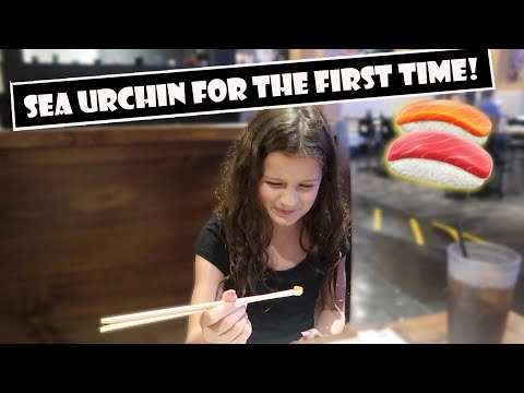 Sea Urchin For The First Time 🍣 (WK 384.6) | Bratayley
